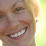 Smiling woman face - transformational life coaching #2
