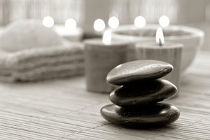 Polished Stone Cairn In A Spa | Inside Out Understanding